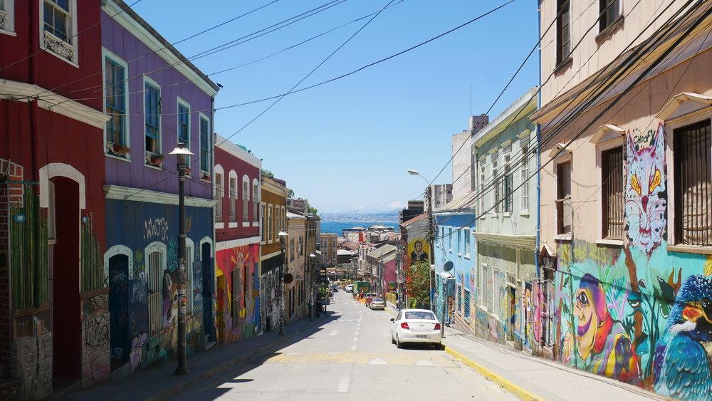Beautiful, beautiful, Valparaiso.