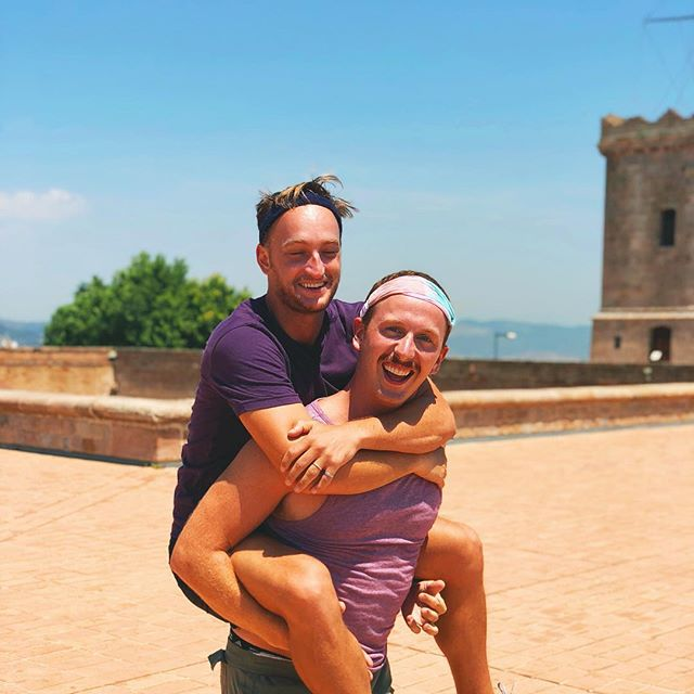 Giving my love the ride of his life! #spain