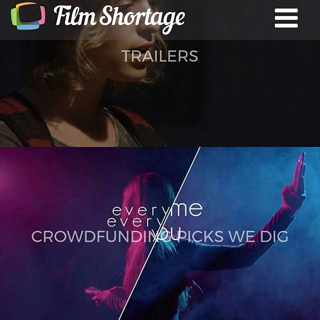 Thanks to @filmshortage for featuring our campaign as one of the crowdfunding picks they dig! #emey #crowdfunding #supportus #kickstarter #linkinbio