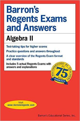 Amsco S Algebra 2 And Trigonometry Ann Xavier Gantert Student