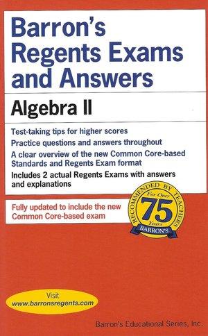Barron's Algebra II