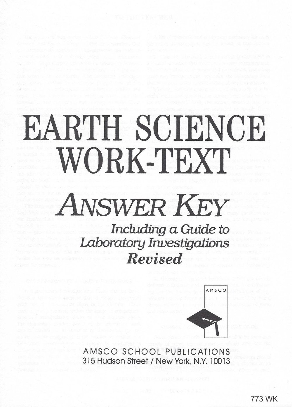 Reviewing Earth Science: The Physical Setting, Third Edition Thomas McGuire  Amsco 1344201, 13818D