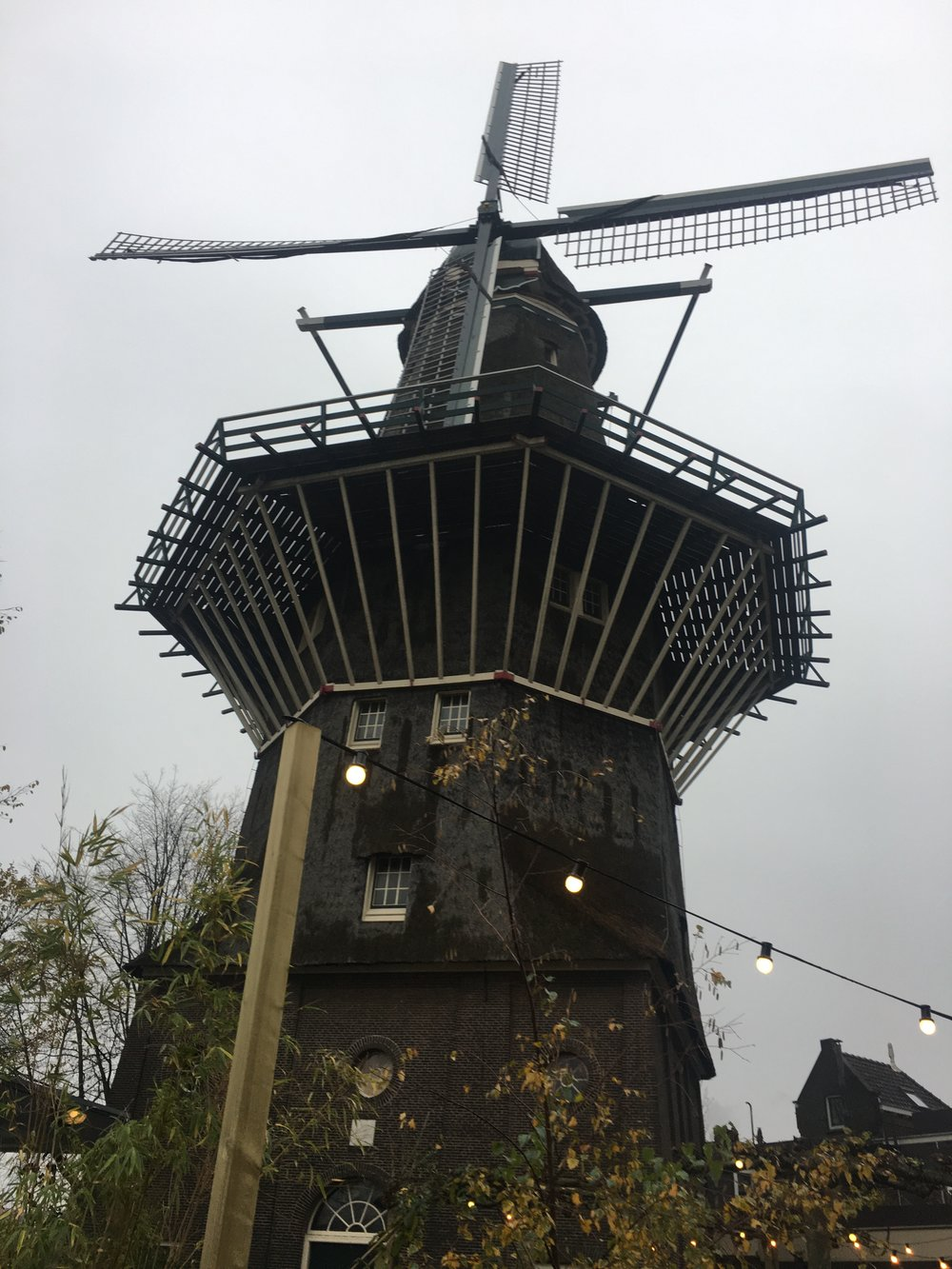 Brouwerij 't IJ in an old windmill
