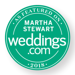 As seen on martha stewart Weddings Floral Ceremony hoop by Seattle wedding florist gather design company