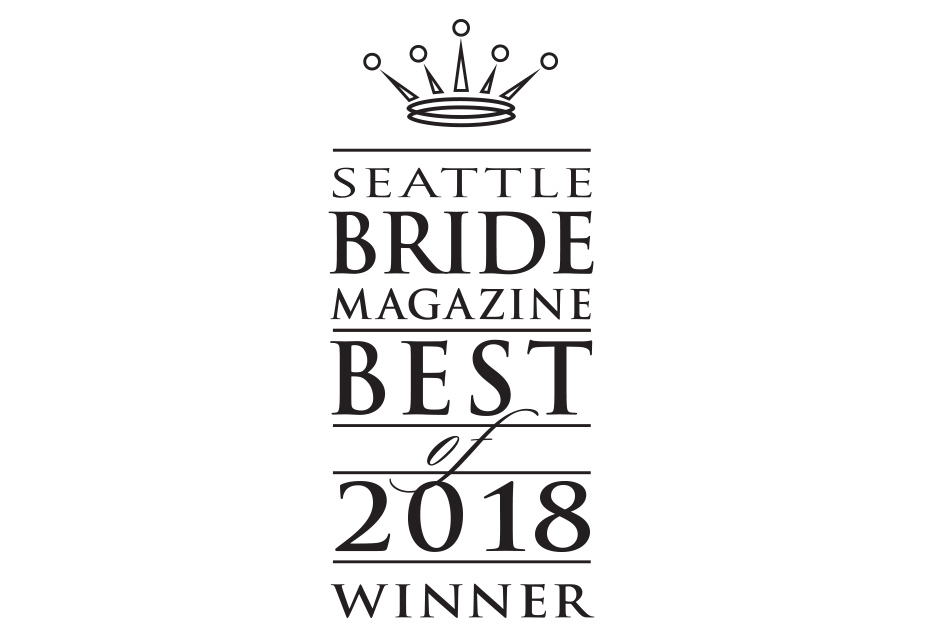 Seattle Best Floral Designer Award 2018