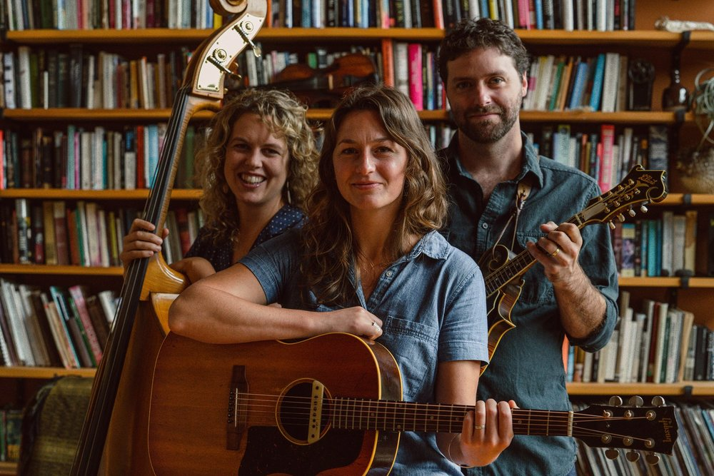 ABOUT: An acoustic (folk/bluegrass/old time) trio composed of Whitney Roy (vocals,guitar), Steve Roy (vocals,mandolin,fiddle) and Amanda Kowalski (bass).