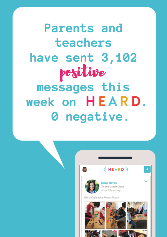 Heard school communication platform helps parents and schools work together