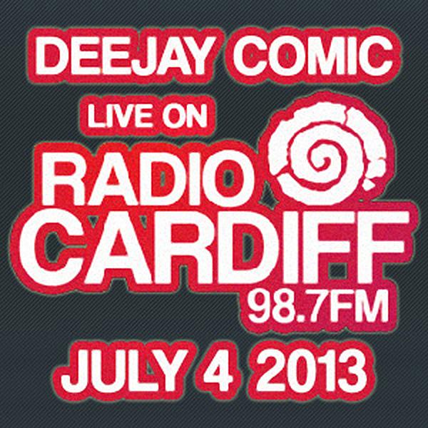 Live on Radio Cardiff — Deejay Comic