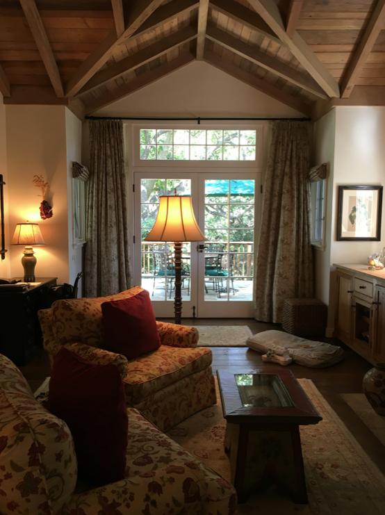 Inside Oak Grove Cottage