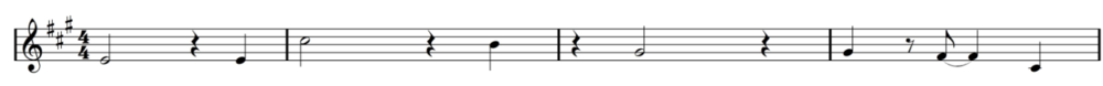 The opening melody/pad line from Sorry I Shook You.