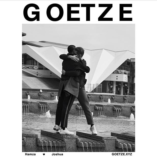 @goetze.xyz aw17 campaign shot by @roman_goebel styling & artdirection @stemmi hair & makeup @anna_neugebauer models @d_cntd & @joshua_m_hyde graphic design @olivermoore.de  Get the perfume #goetzegegenwart from www.goetze.xyz or verduu.com . . . #goetzexyz #photography #campaign #lovers & #perfumelovers #verduu #markbuxton #nicheperfume #custom #designer #perfume #berlin #fashion
