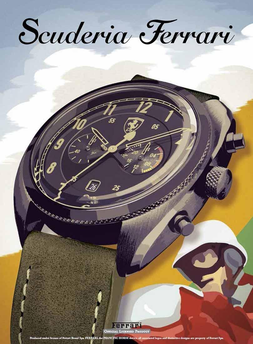 """Ferrari """"Formula Italia"""" watch"""