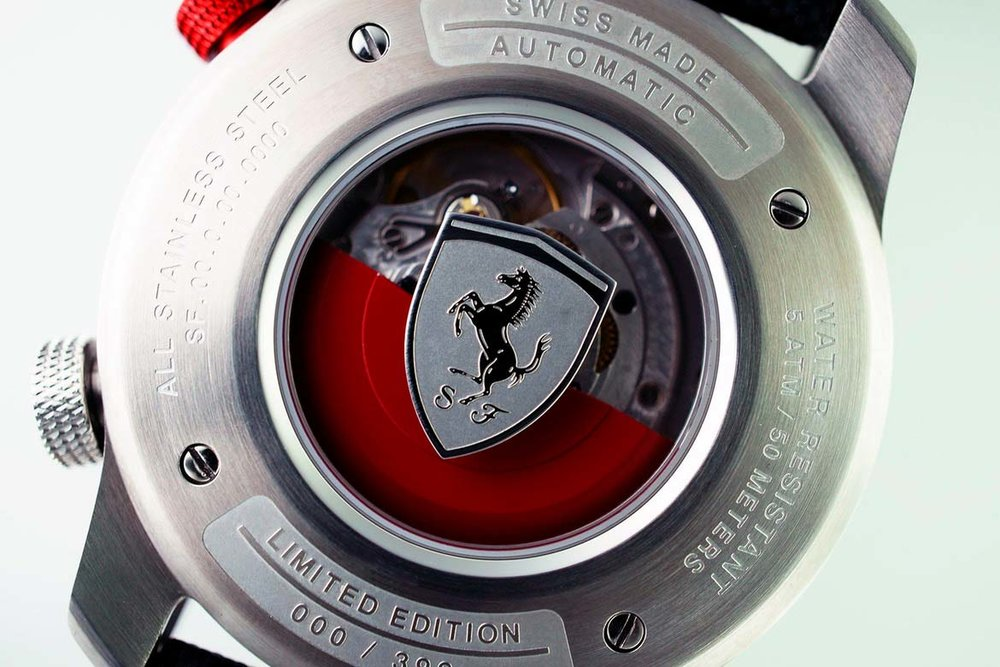 Ferrari 70th Anniversary watch