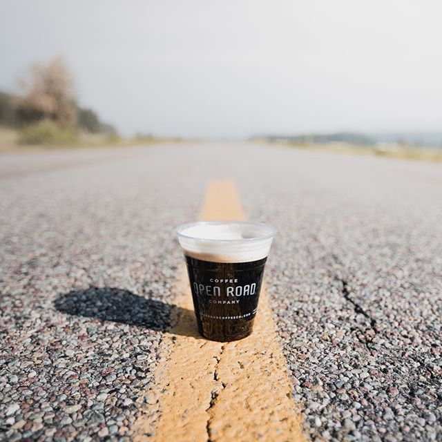 Open Road Nitro Cold Brew. #openroad