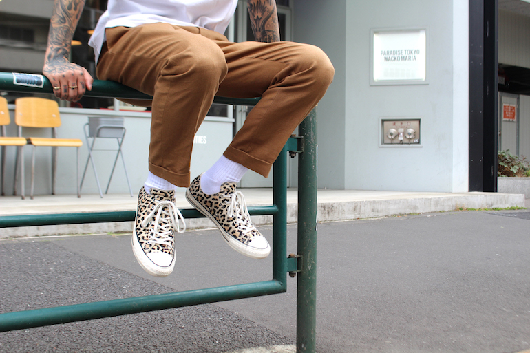 fc1b96014102 WACKO MARIA teams up with Converse for a new take on the all star low