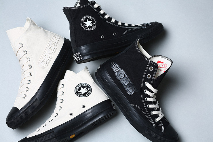 fa7488f3e1cc Oct 4 COMME des GARÇONS teams up with CONVERSE ADDICT for a take on the  Chuck Taylor Hi