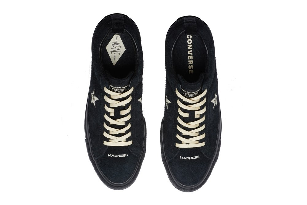 a027a54d631c MADNESS teams up with Converse for a take on the One Star silhouette ...