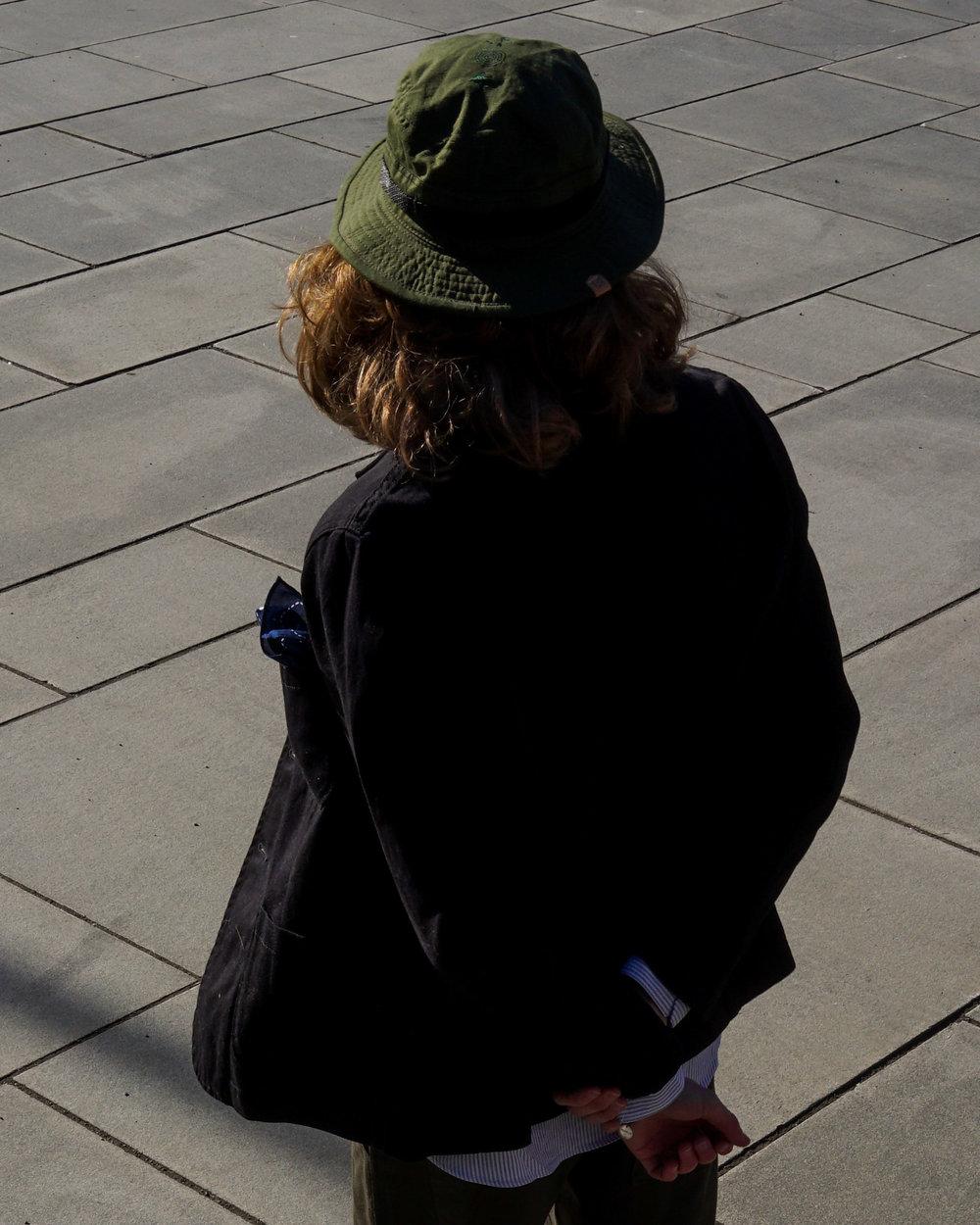 Tripple insignia boonie hat.