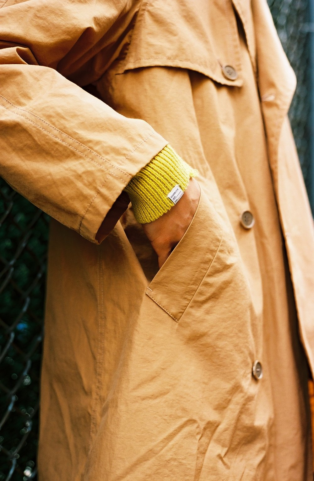 Foxhole coat, Garry Sweater