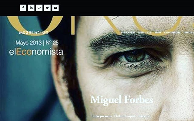 Visit Miguel Forbes for updates on both foreign and domestic markets.  www.miguelforbes.com  #forbestravelguide #forbes #blogger