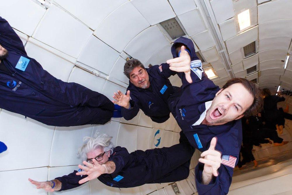 Miguel Forbes Zero Gravity
