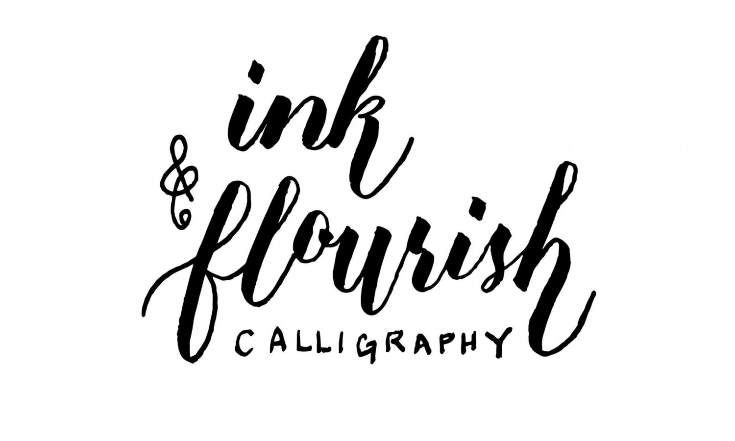 ink & flourish calligraphy