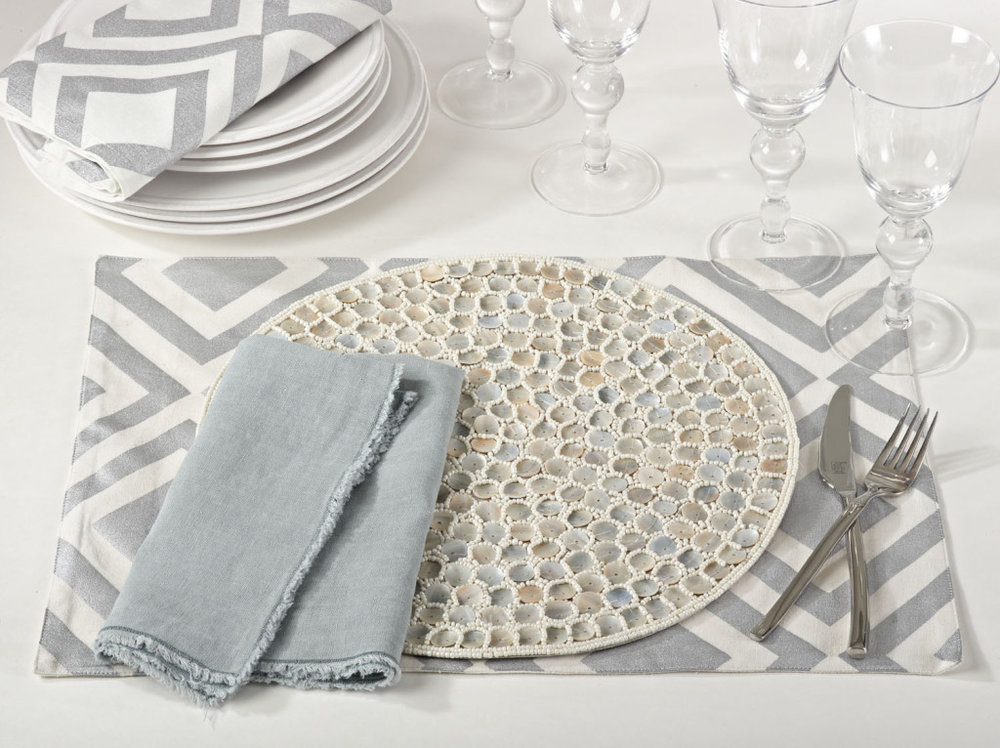 Bora Bora Placemats by Saro