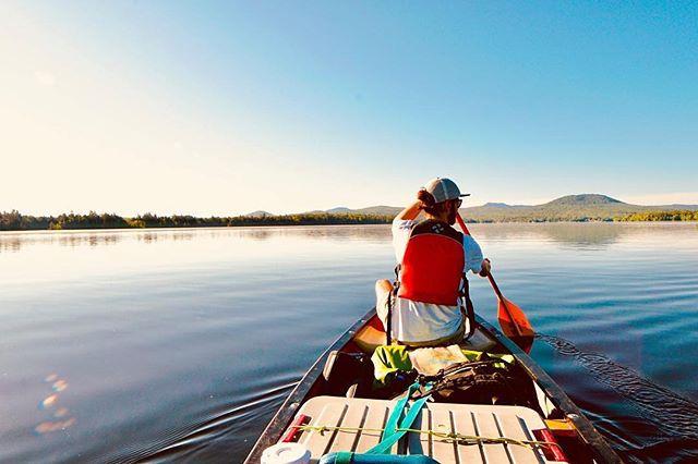 Summer daze on lake Umbagog ✨ #mightylittlestate repost: @shbeezus_mccoy @patthehiker