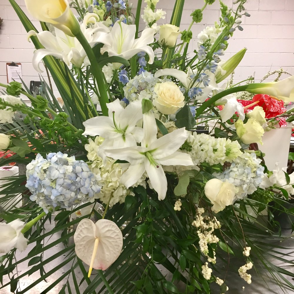 Stunning arrangements are Elizabeth House Flower's specialty.