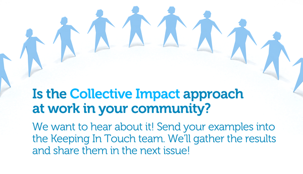 Is the Collective Impact Approach at work in your community?