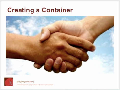 creating a container