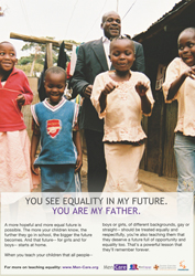 You see equality in my future. You are my father.