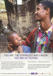 You are the strongest man I know. You are my father.