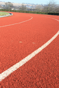 Stock Image from SCX.hu user ColinBroug - Athletics Track