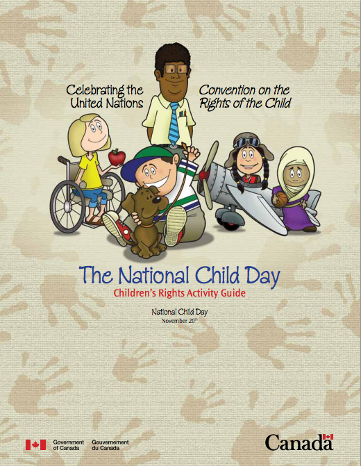 National Child Day Activity Guide - Keeping In Touch BC