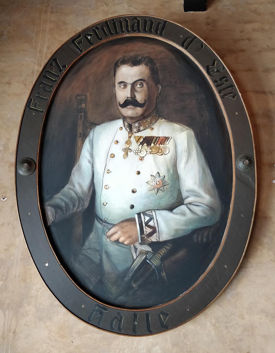 Archduke Franz Ferdinand Radegast Hall_Acrylic on metal plate(c).jpg