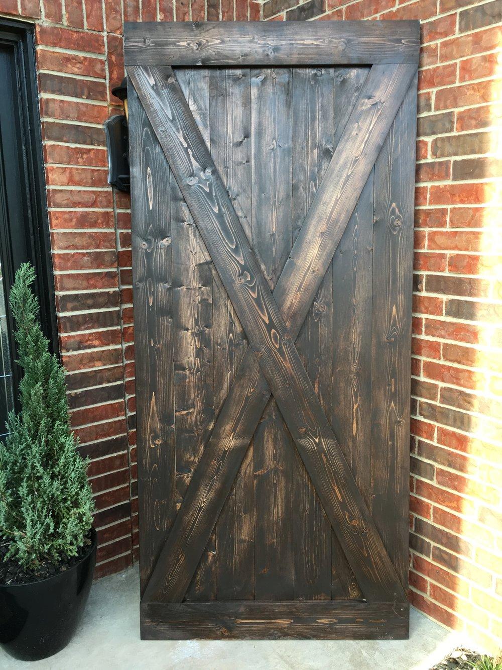 'X' Design Barn Door.JPG
