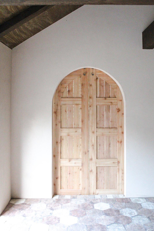 Exterior Cedar Barn Door