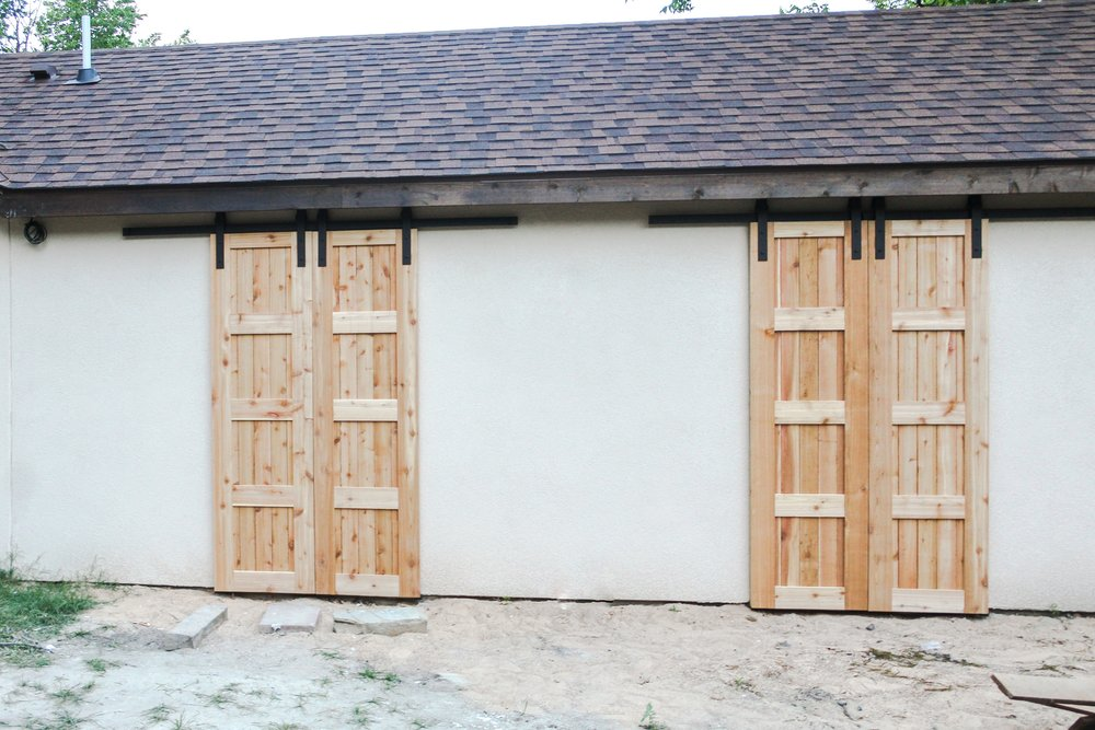 Exterior Cedar Barn Doors