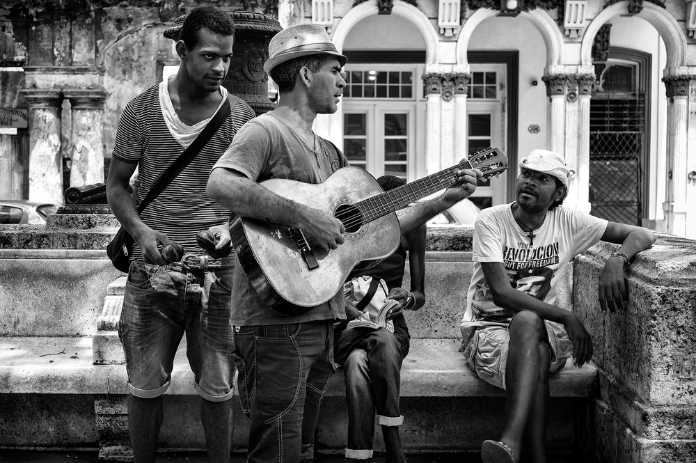 The Musicians on Paseo del Prado
