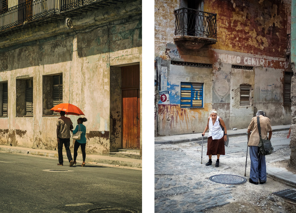 Left: The Orange Umbrella Right: Love on a Two Way Street