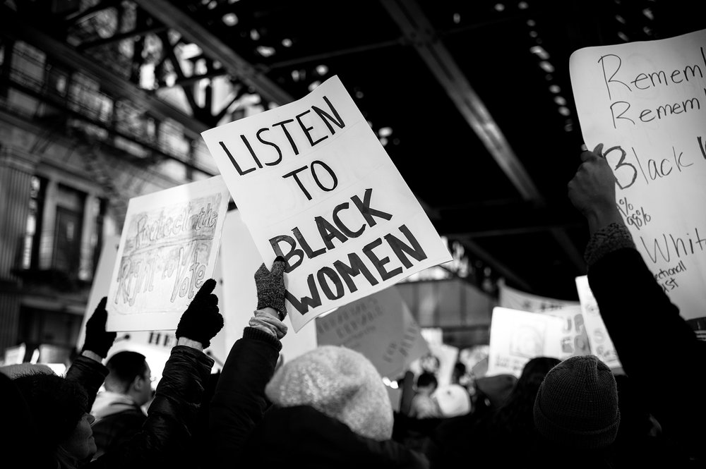 LISTEN TO BLACK WOMEN | © PRESTON LEWIS THOMAS