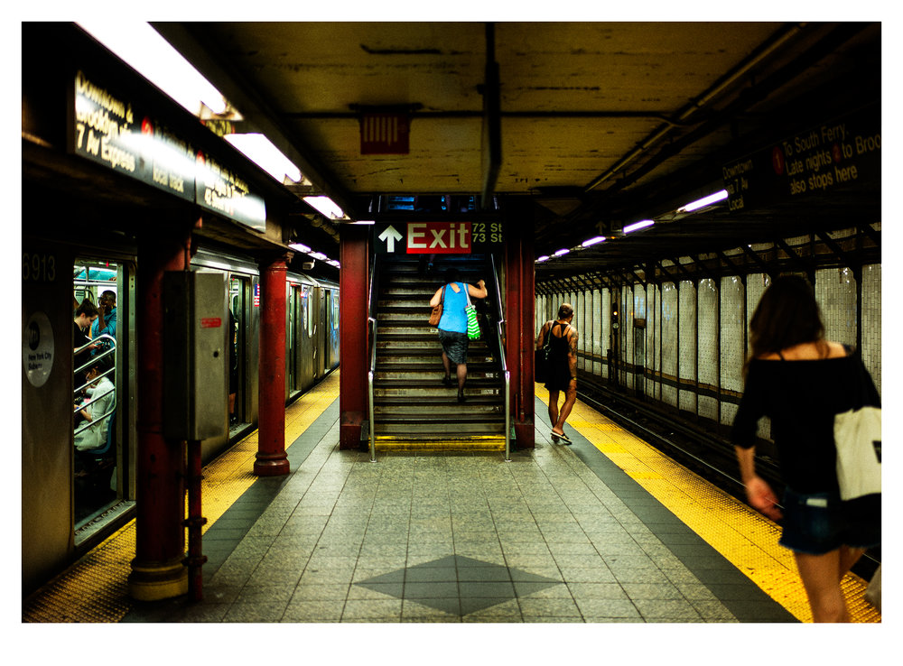 Subway. NYC