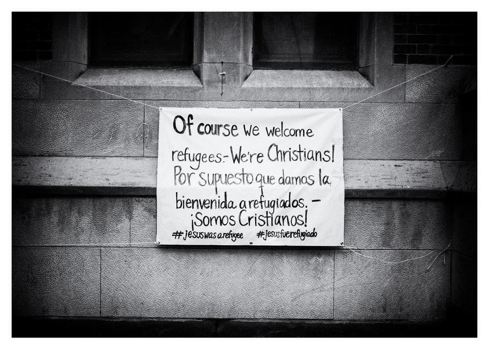 Bienvenida a Refugiados. ¡Somos Cristianos!, NYC
