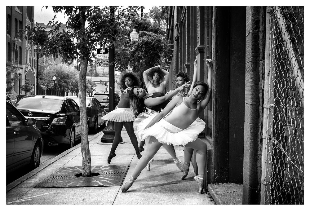ballerinas out of context | © preston lewis thomas
