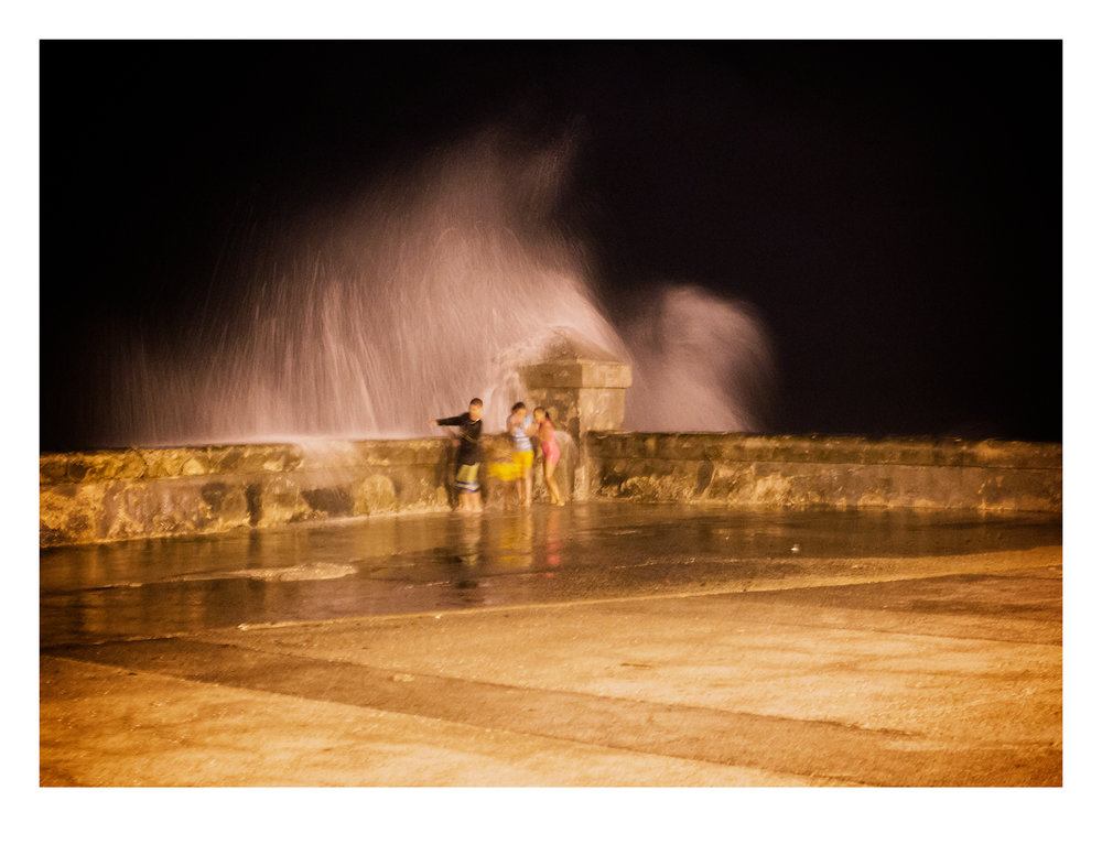 Water Dance on the Malecón | © Preston Lewis Thomas  Purchase This Work