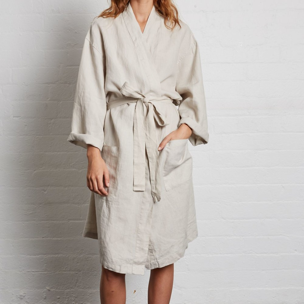 7. Linen Robe by In Bed Store - Drop the hint, and let Mum know she's allowed to stay in bed, and lounge around all day in a beautiful new Linen Robe from our favourites, In Bed Store. In Bed Store also have a beautiful range of linens, sleepwear, and luxurious sheet sets.