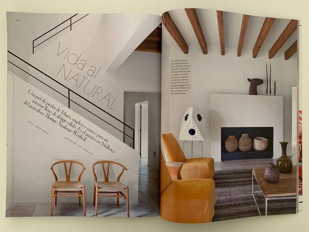 Architectural Digest España July/ August 2018