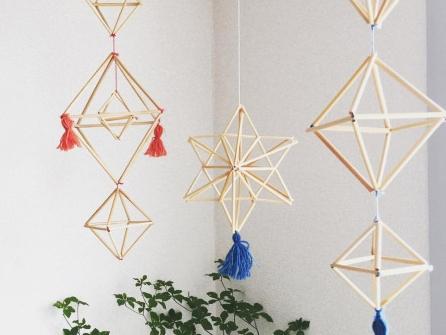 Finland伝統装飾ヒンメリ