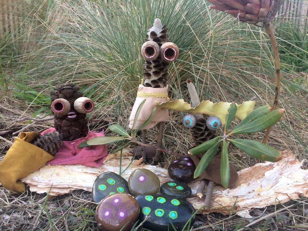 MAKE BUSH TOYS WITH YOUR CITY KID - PARENT + PRESCHOOLER EVENT